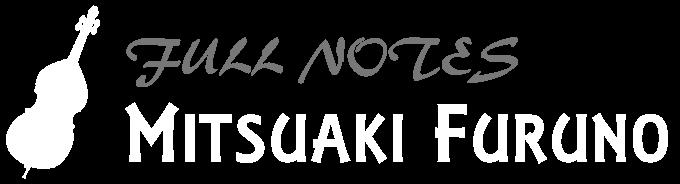 Full Notes MITSUAKI FURUNO